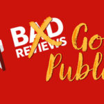 Get good publicity from bad reviews