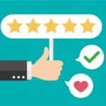 Thumbs up for 5-star reviews