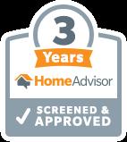 3 Years with HomeAdvisor